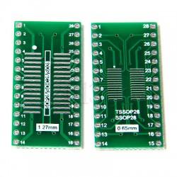 SOIC28 SOP28 TSSOP SSOP28 Adapter PCB